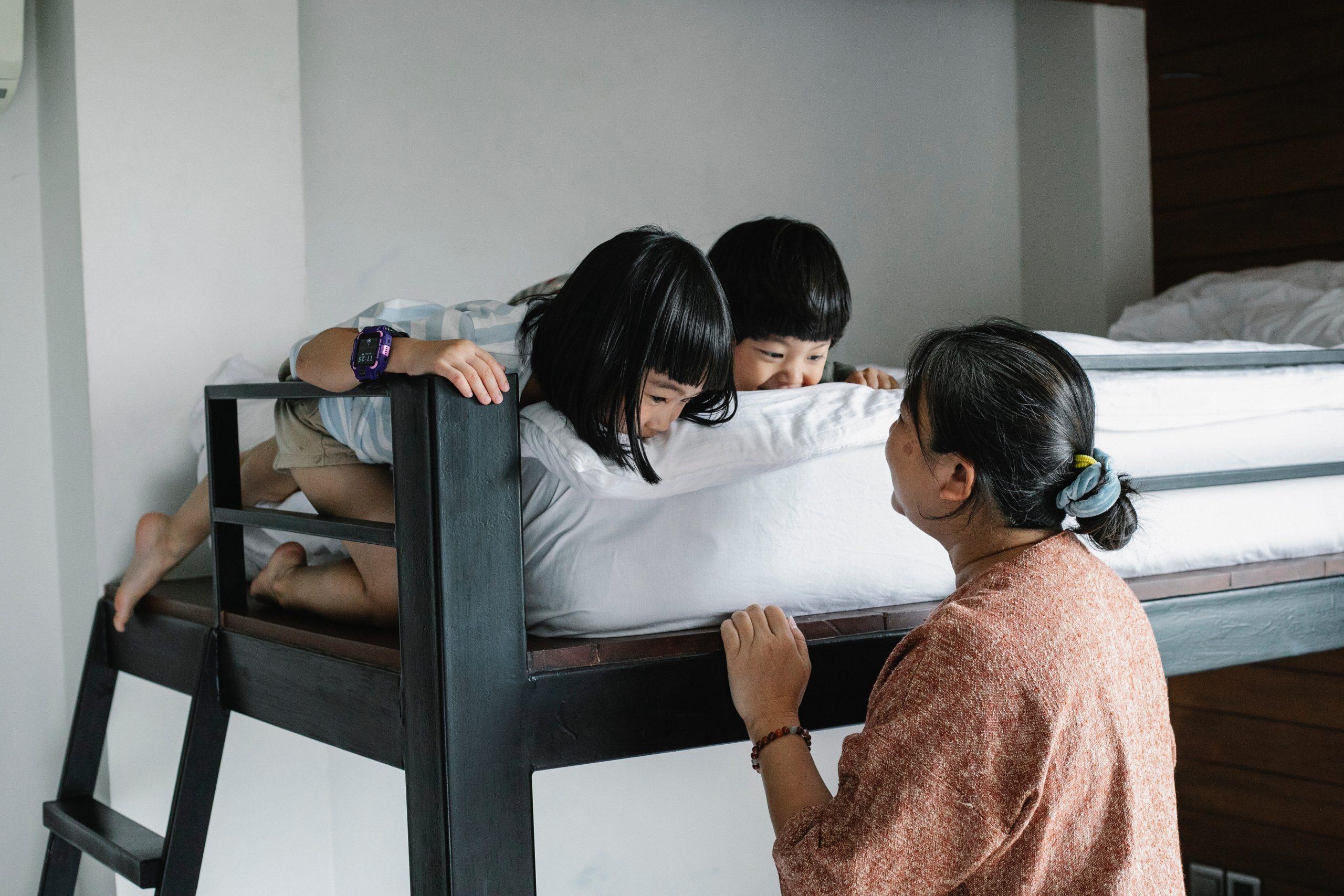 Een inspirerend bed voor de hele familie!